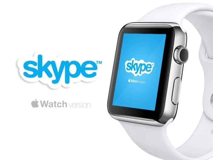 skype for Apple Watch - Svetapple. sk