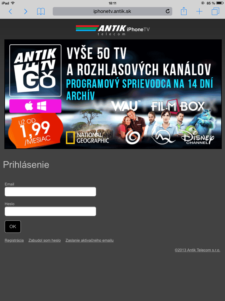 AntikTV - Svetapple.sk