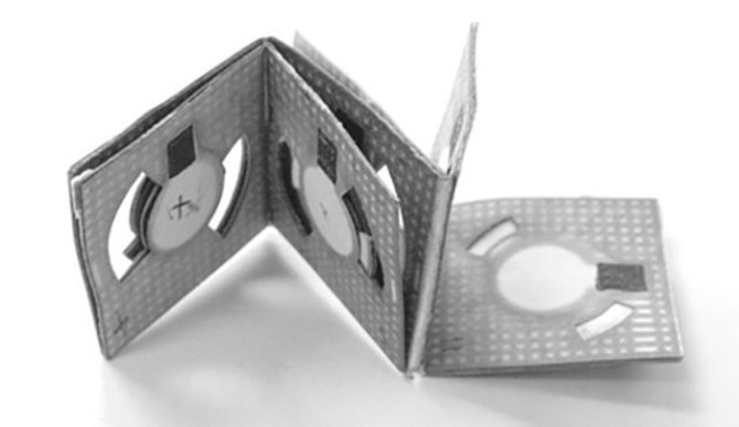 Origami batéria - svetapple.sk