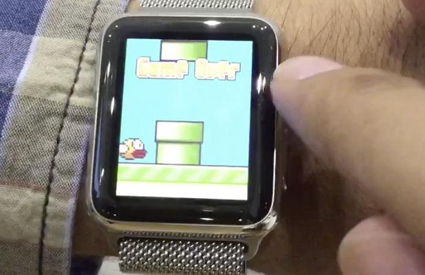 Flappy Bird na Apple Watch - svetapple.sk