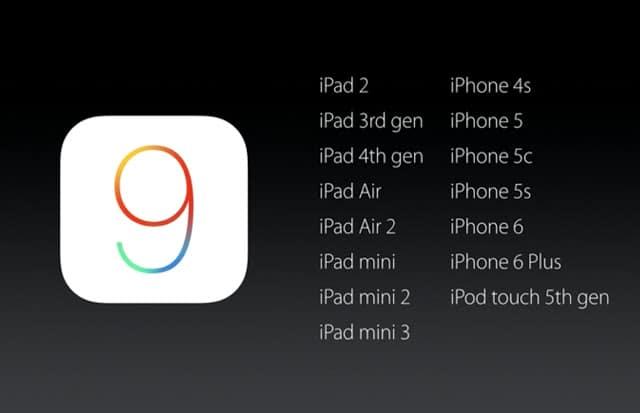 iOS 9 kompatabilita - svetapple.sk