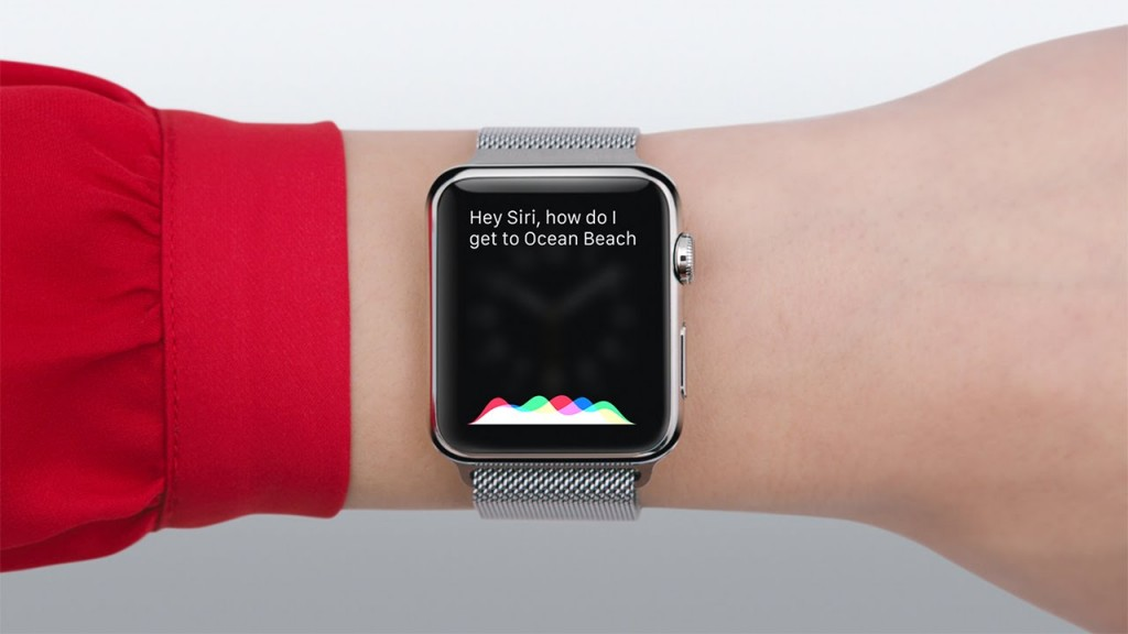 Apple Watch Siri - svetapple.sk