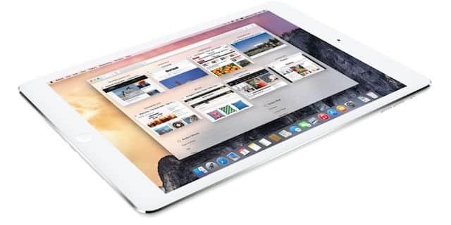 OS X El Capitan na iPade - svetapple.sk