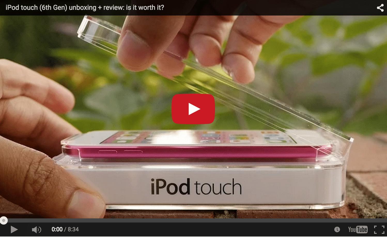 iPod Touch 6 generácie - svetapple.sk