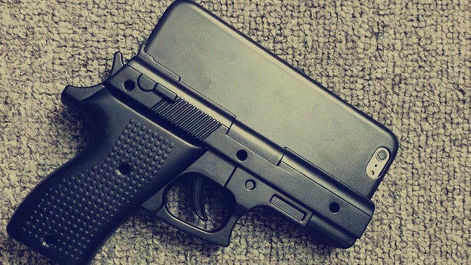 iPhone obal zbraň - svetapple.sk