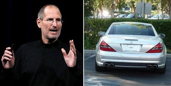 Steve Jobs Mercedes - svetapple.sk