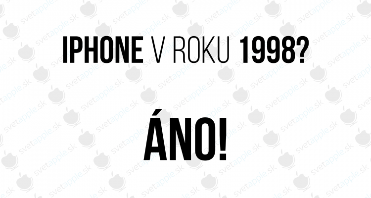 iphone 1998 - titulná fotografia - SvetApple,sk
