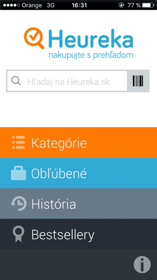 Heureka app - svetapple.sk
