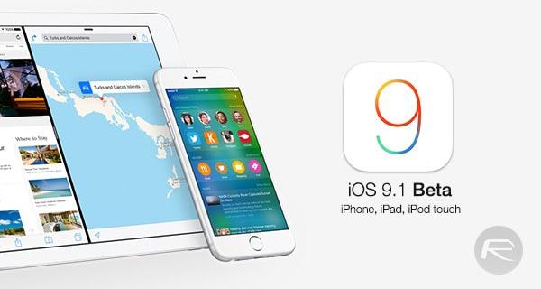iOS 9.1 beta - SvetApple.sk