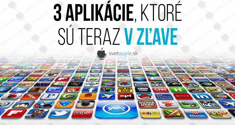 3 app v zľave - farebné