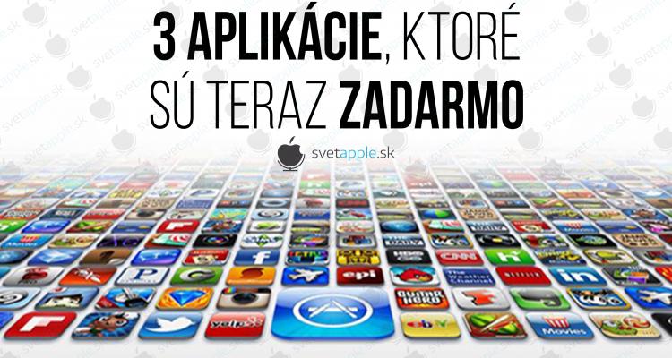 3 app zadarmo