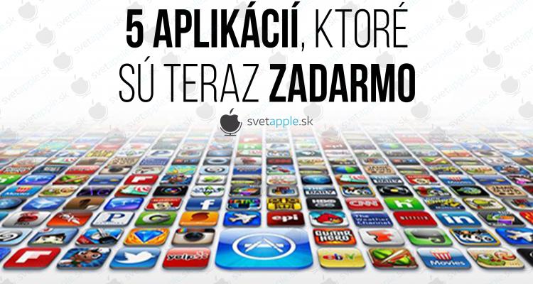 5 app zadarmo