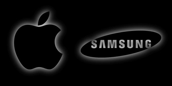 Apple-Samsung-logo