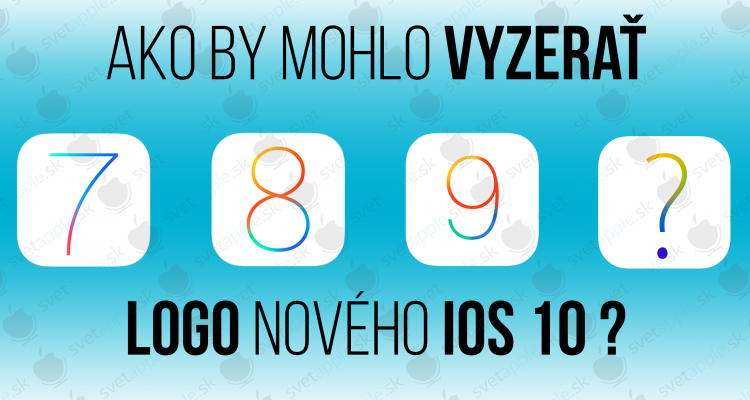 iOS 10 logo - titulka