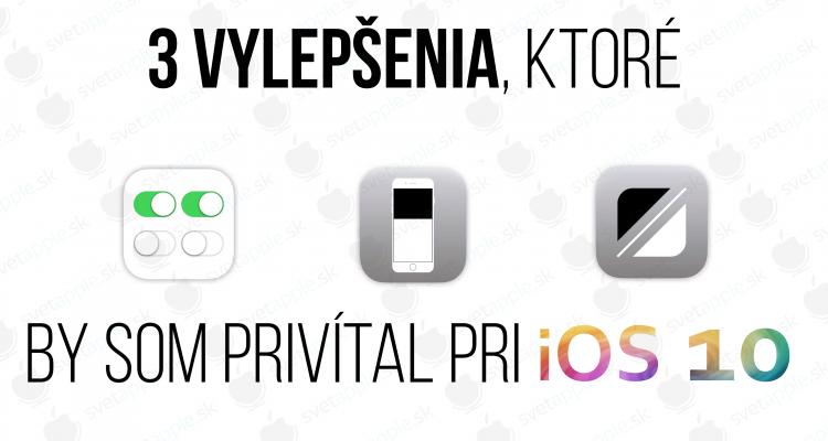 titulná fotografia iOS 10