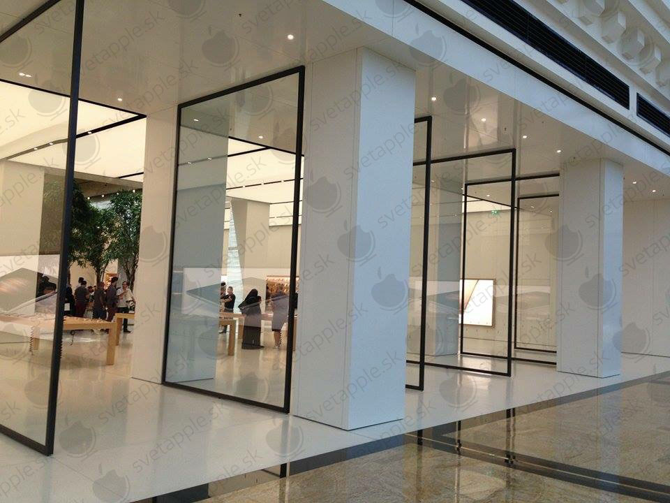 Dubaj Apple Store - SvetApple