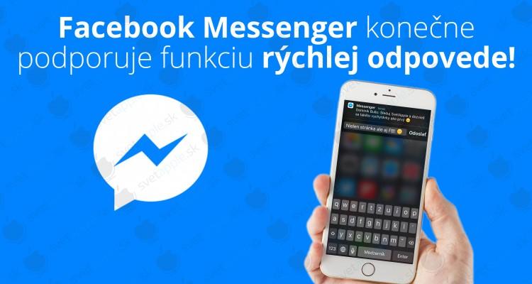 Messenger-rychle-odpovede---titulná-fotografia---SvetApple