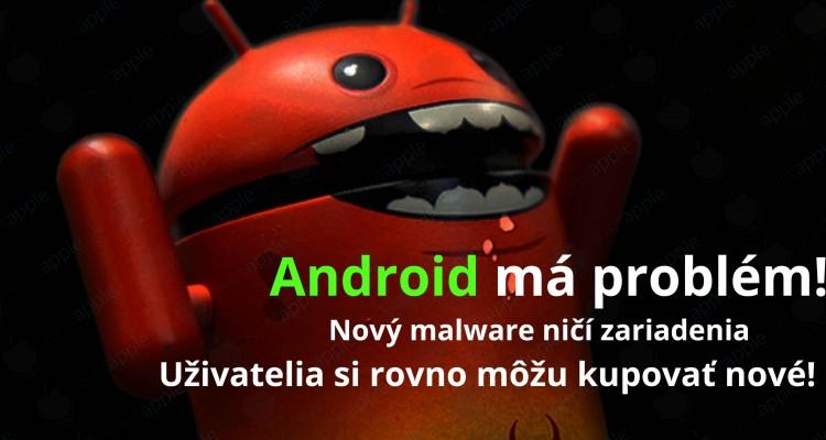 android problém