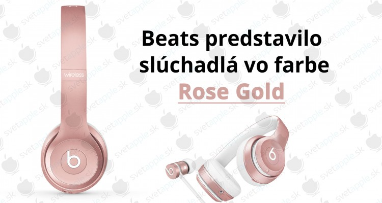 beatsrosegold