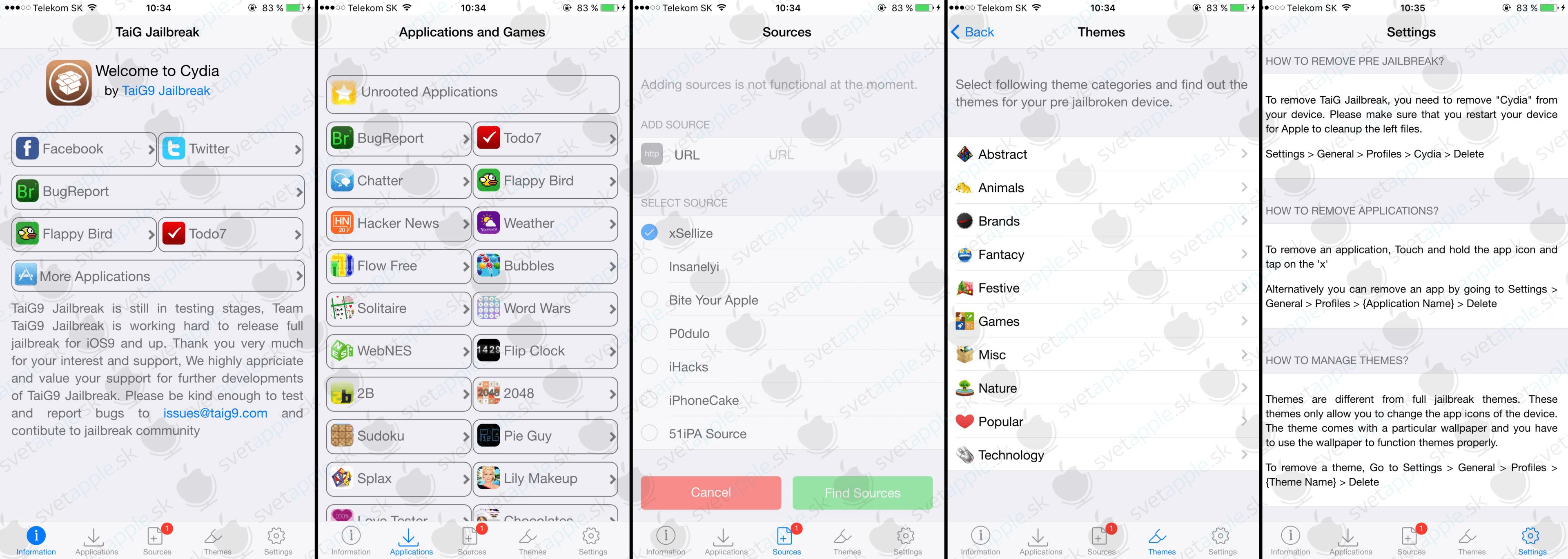 Jailbreak pre iOS 9.1 beta - SvetApple.sk