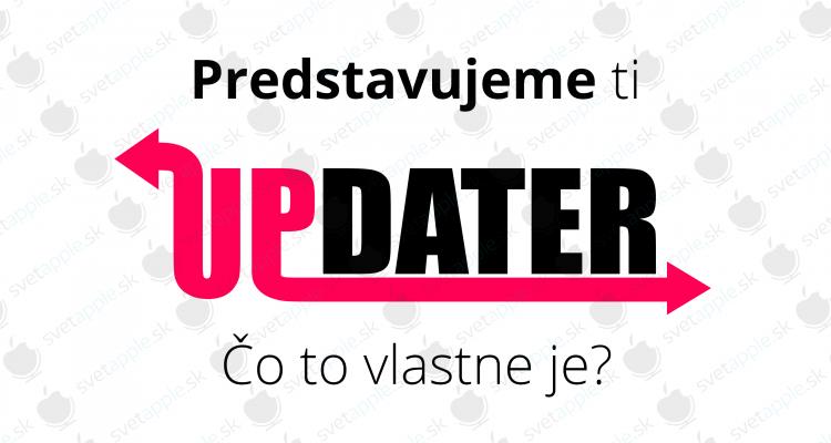 updater - titulná fotografia - SvetApple.sk