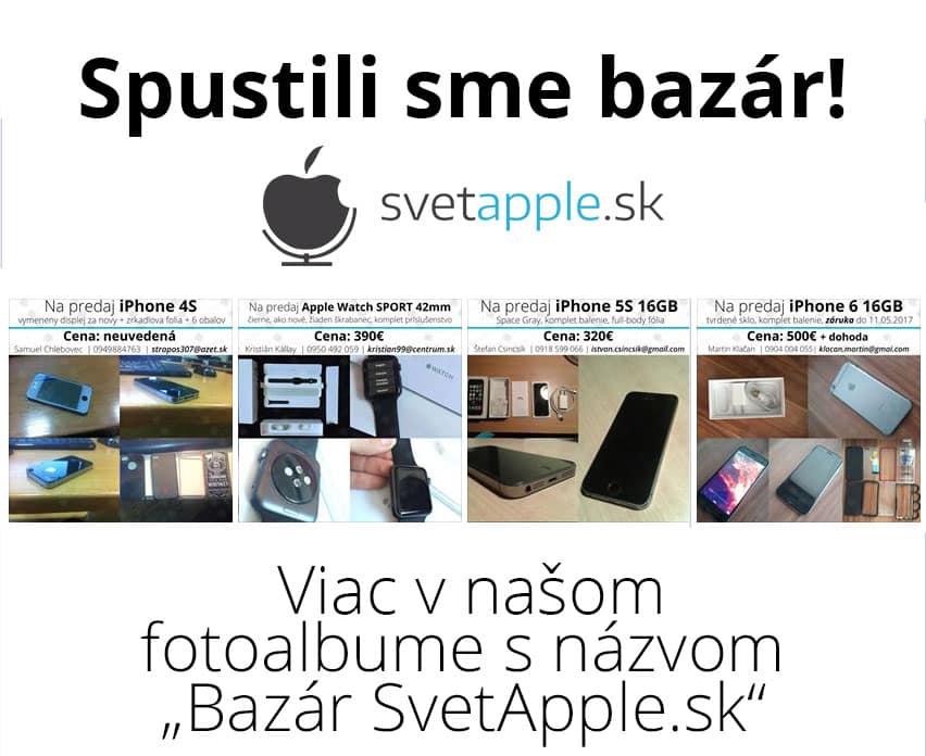 bazár - SvetApple.sk