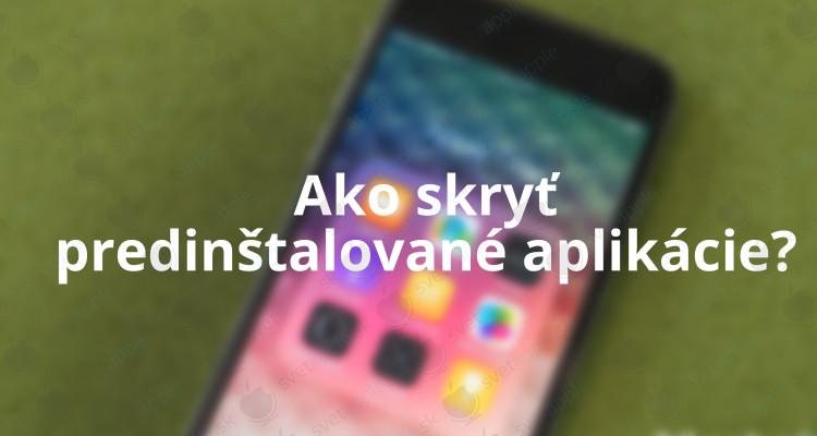 aplikácie