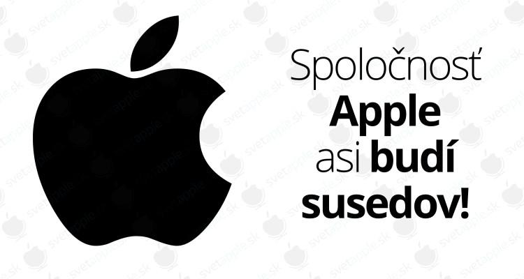 Spoločnosť Apple asi budí susedov!