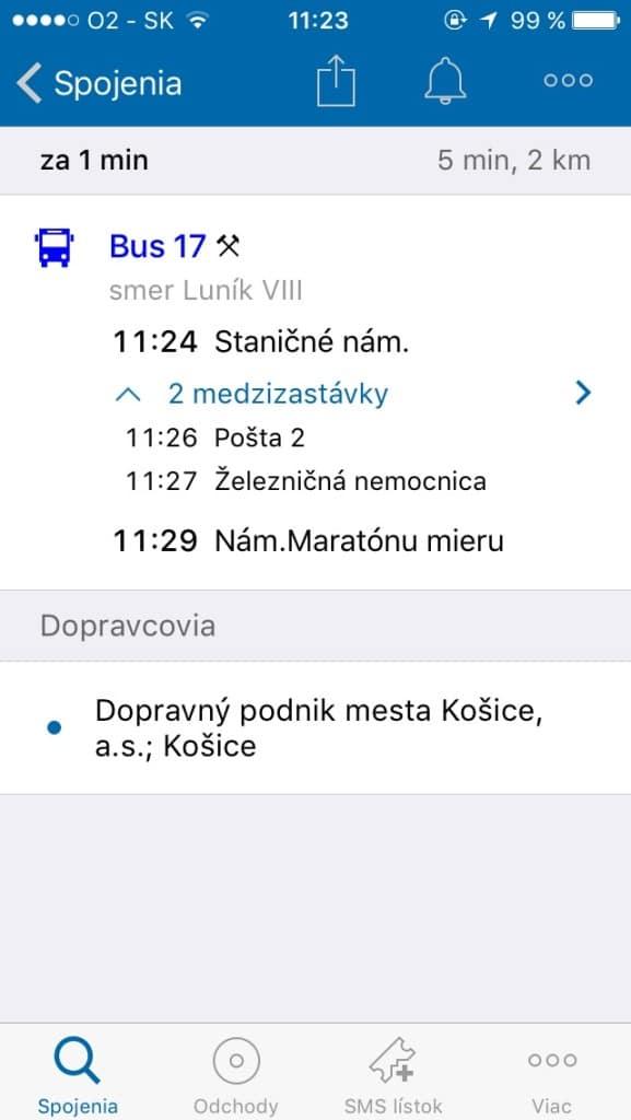 MHD Spojenie -- Svetapple.sk