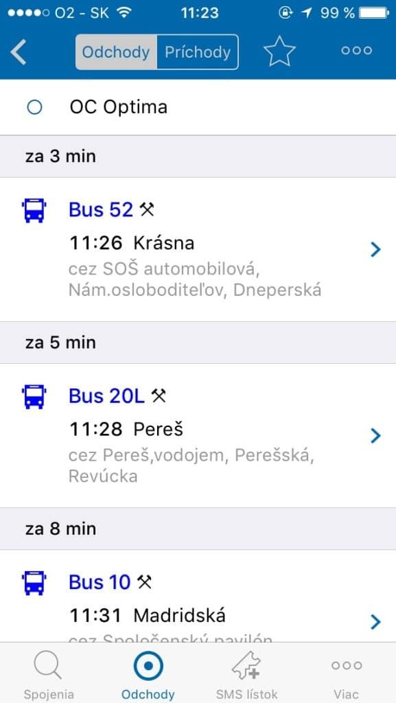 Odchody -- Svetapple.sk