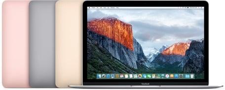 Macbook 12 farby