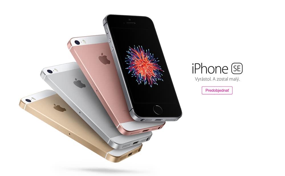 iPhone SE predobjednávka svetapple