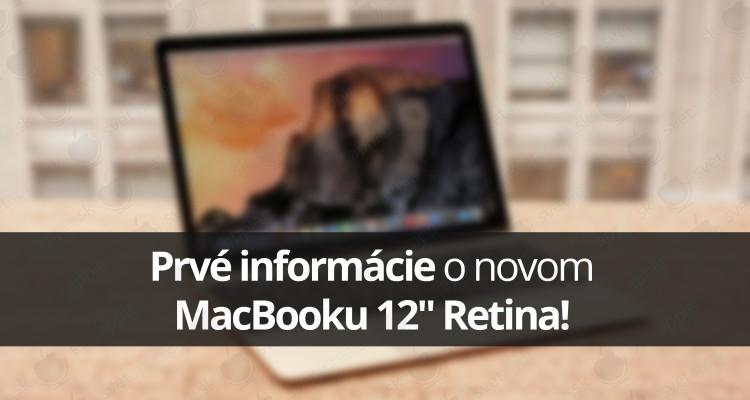 Prvé informácie o novom MacBooku