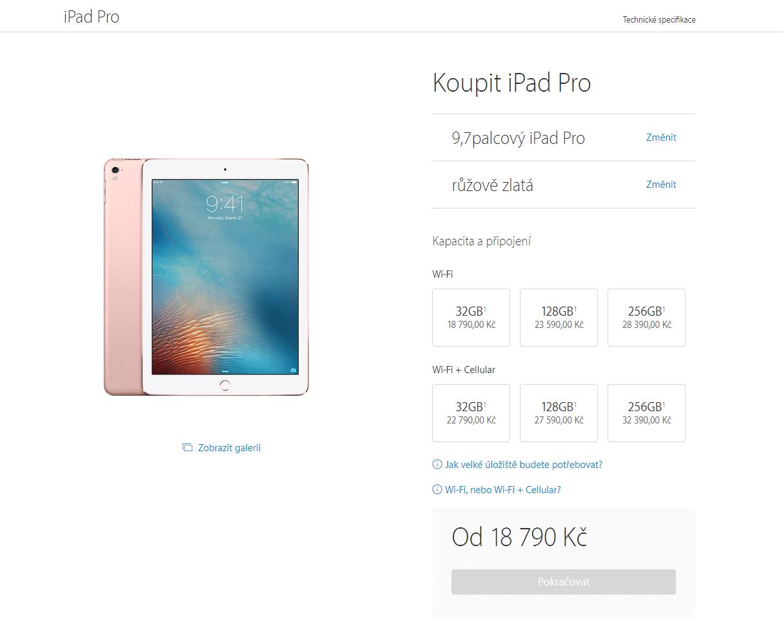 iPad Pro ceny - SvetApple.sk