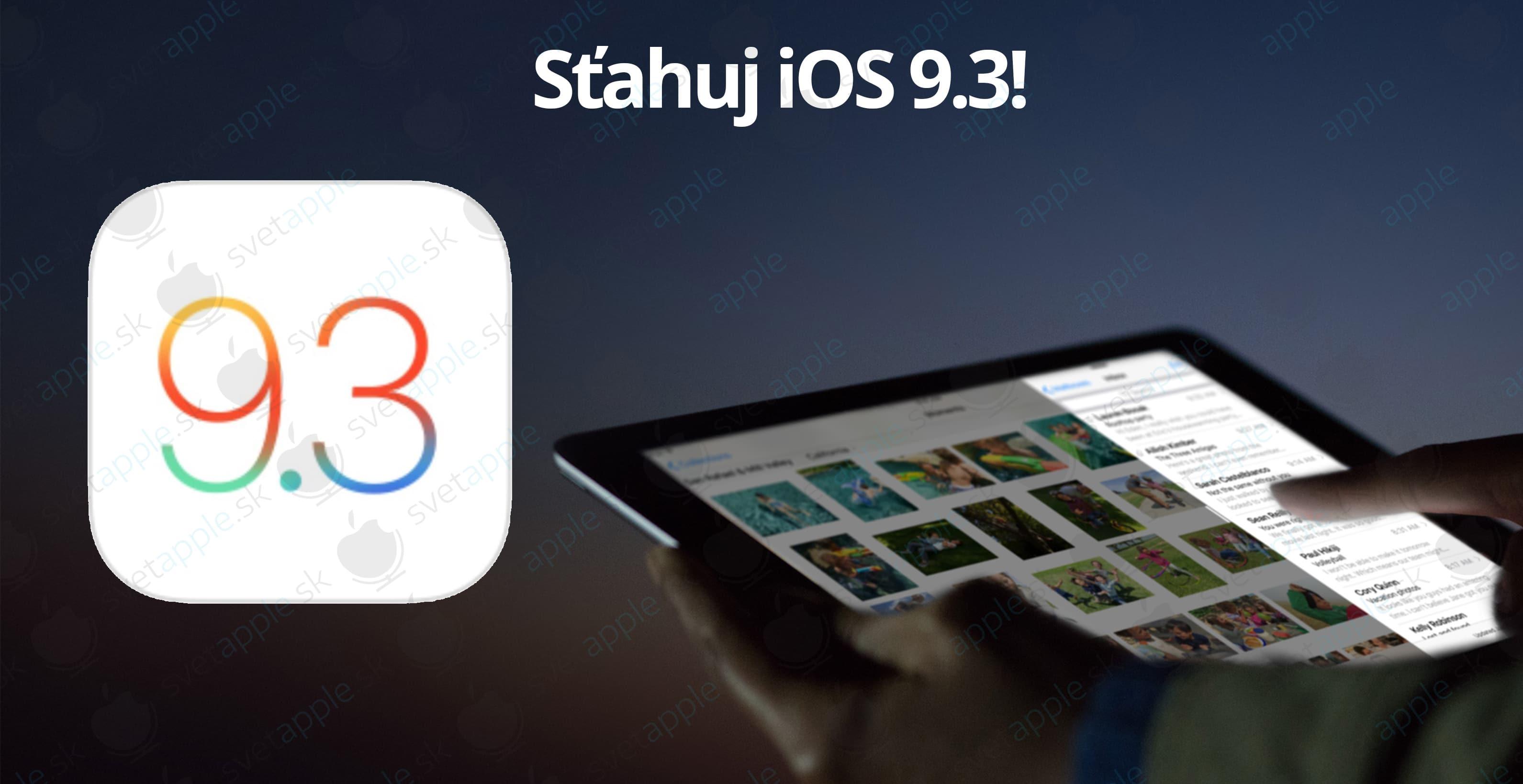 iOS-9.3---titulná-fotografia---SvetApple