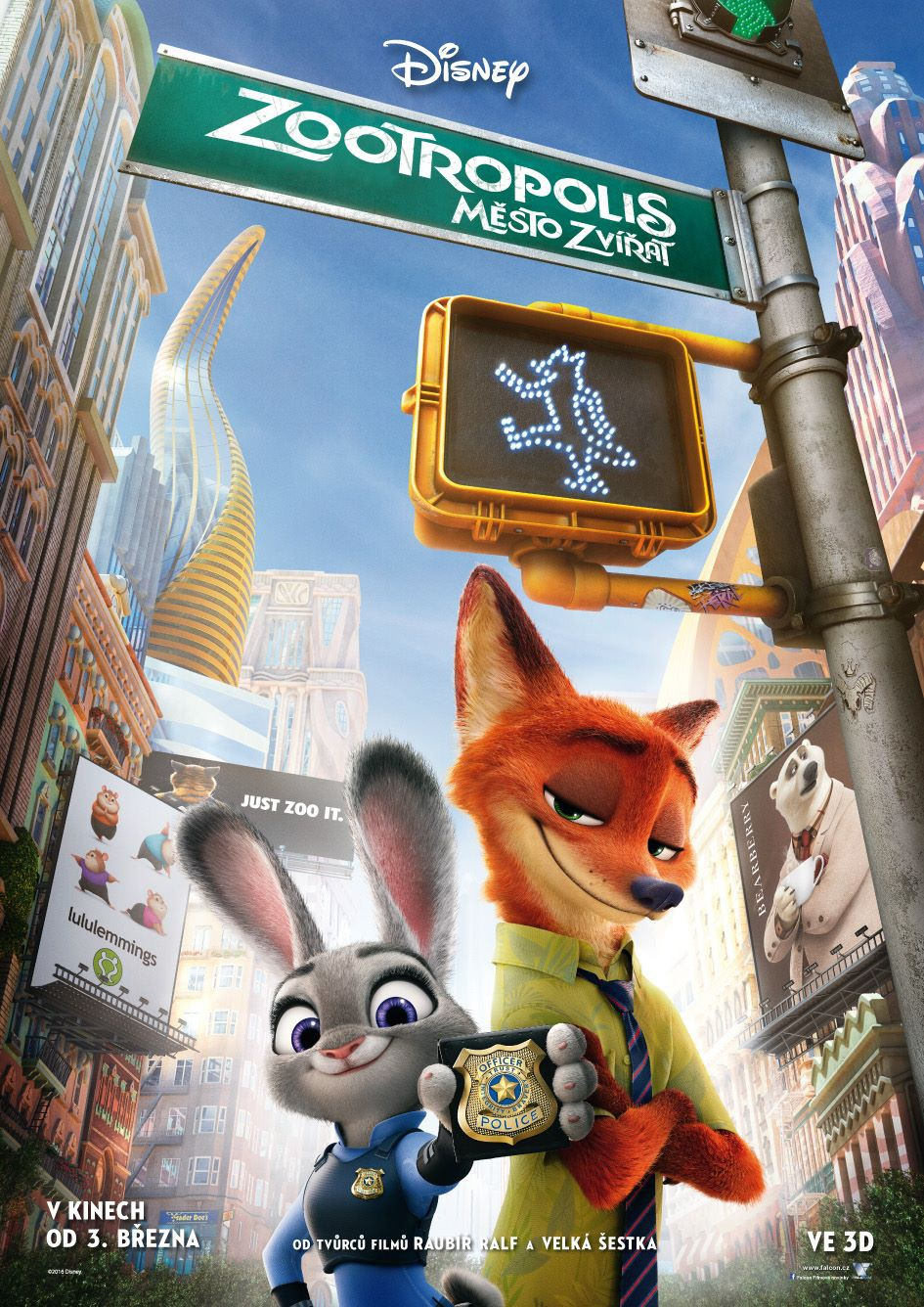 Czech_Zootopia_Poster