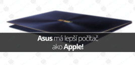 Asus má lepší počítač ako Apple!