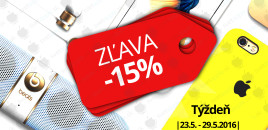 UŠETRI 15%! ZĽAVA NA PRAKTICKÉ DRŽIAKY (OD 23.5. – 29.5.)