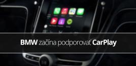 BMW začína podporovať CarPlay