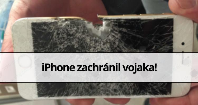 iPhone zachránil vojaka
