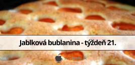 Jablková bublanina – týždeň 21.
