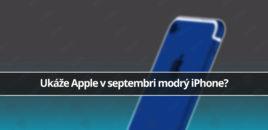 Ukáže nám Apple v septembri modrý iPhone?