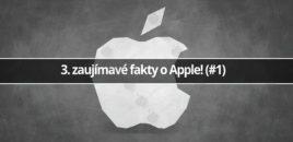 3 zaujímavé fakty o Apple (#1)
