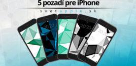 5 pozadí od SvetApple.sk pre iPhone | #6