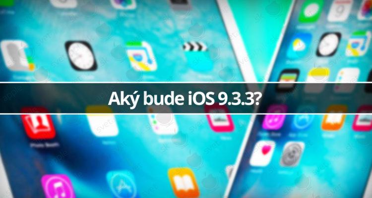 iOS 9.3.3
