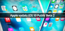 Apple vydalo iOS 10 Public Beta 2