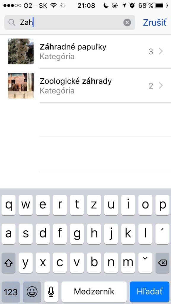 iOS 10 automatické vyhľadávanie fotiek - svetapple.sk