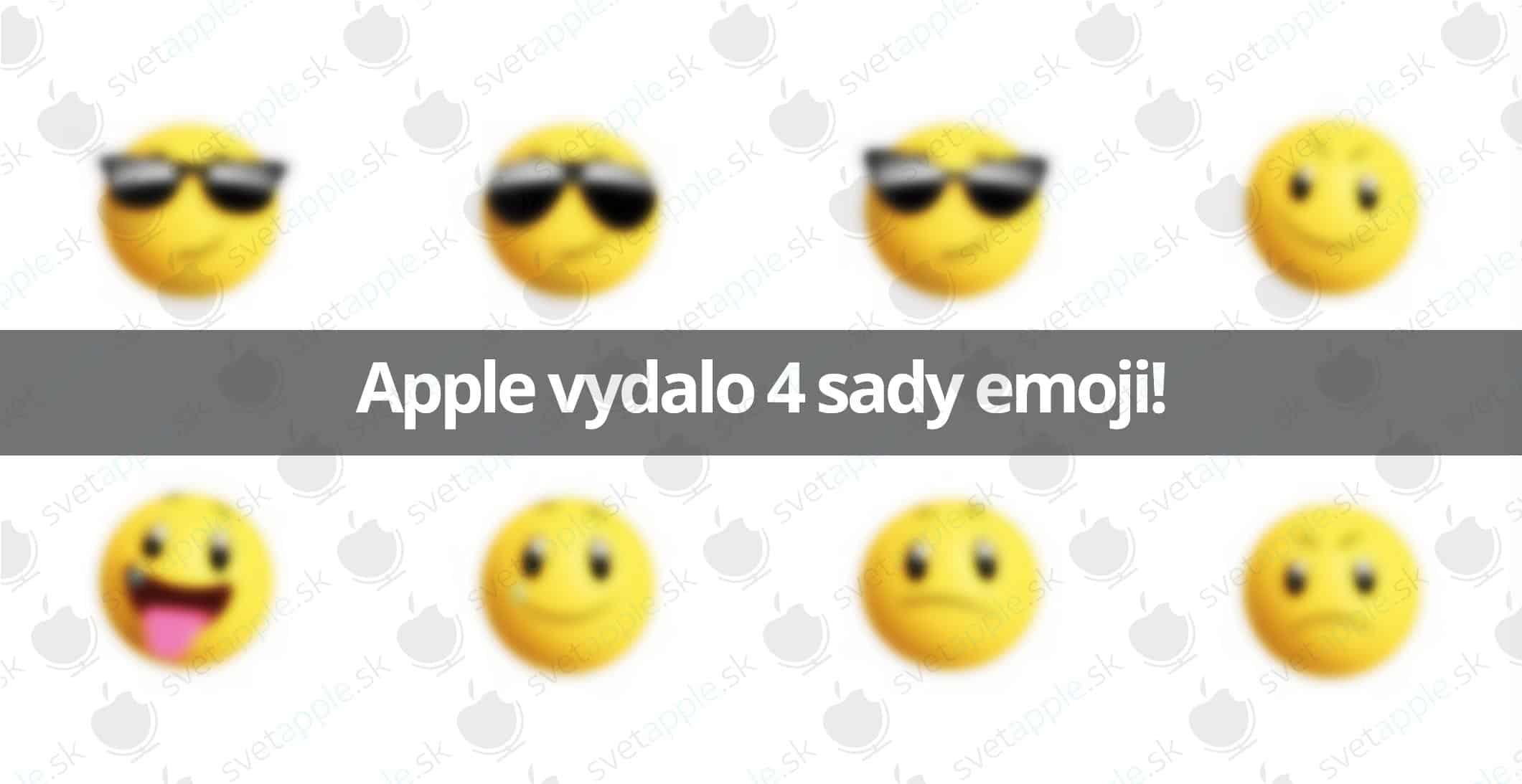 4 nové sady emoji