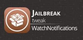 Jailbreak tweak – WatchNotifications