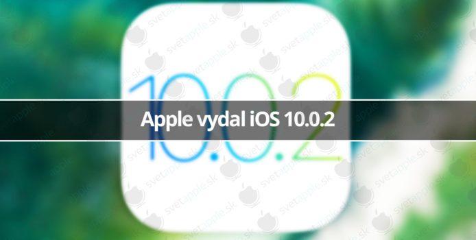Apple vydal iOS 10.0.2